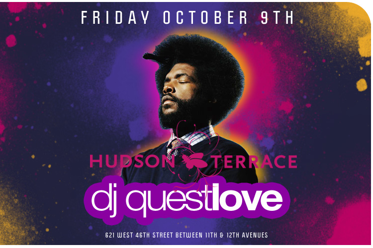 The Hudson Terrace was tha bizness last nite!!!