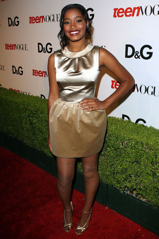KIKI PALMER AT THE TEEN VOGUE YOUNG HOLLYWOOD EVENT, HOSTED BY D&G