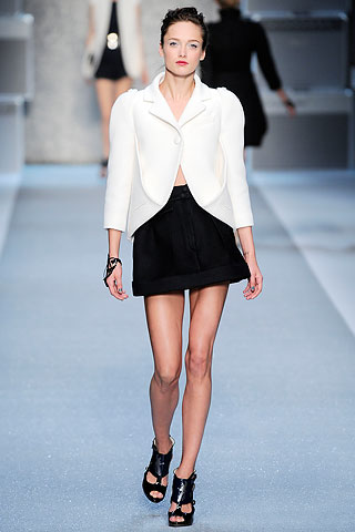 KARL LAGERFELD!!! SEE THE BLAZER IS THE NEW CRAZE NOW!!! BETTER GET ONE