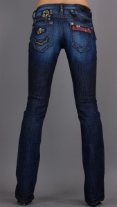 DARK ROCK N ROLL JEANS $240